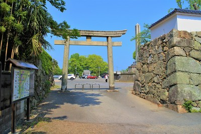 椎ノ木御門跡(東側)