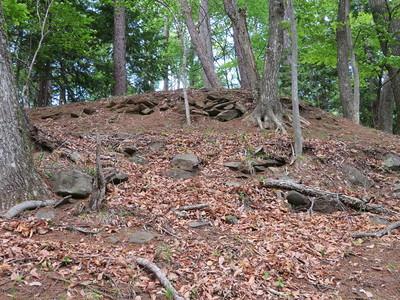 本丸の石積