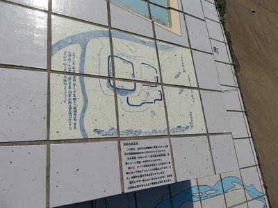 安田古城之図
