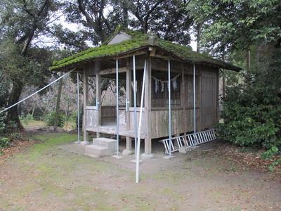 主郭の愛宕神社