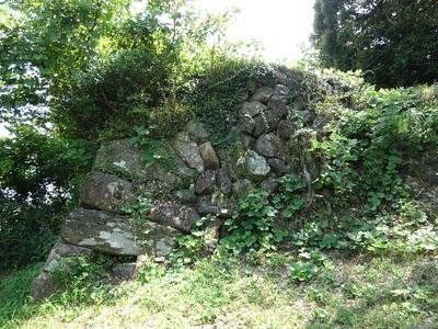 本丸跡の石垣