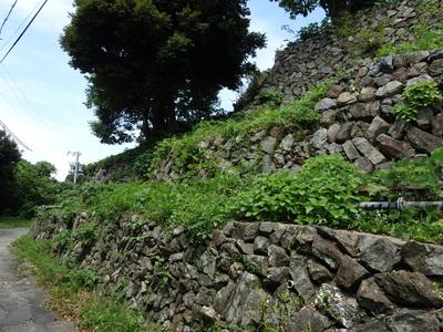 本丸南側の石垣其の弐