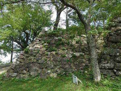 天守跡の石垣