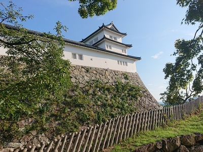 西の丸三重櫓と続櫓