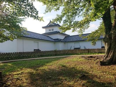 西の丸三重櫓と続櫓(南側から)