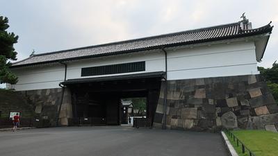 桜田門(皇居外苑から)