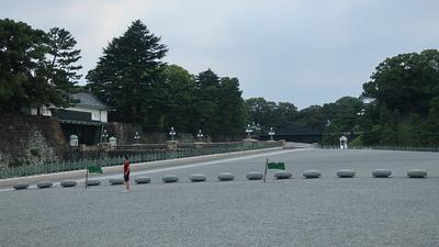 二重橋と皇居正門