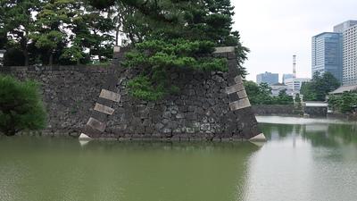 蛤濠と石垣