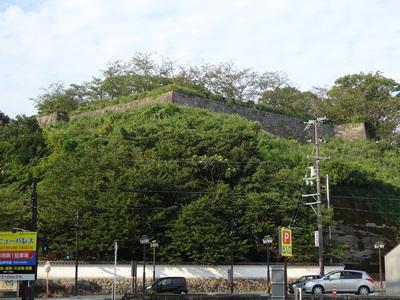 鐘ノ丸の石垣