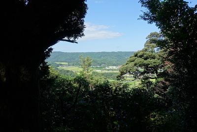 天守台からの眺望