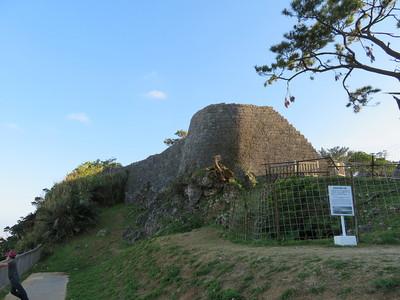 復元された城壁