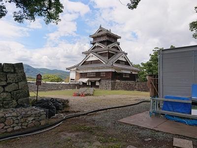 宇土櫓(平左衛門丸側から)