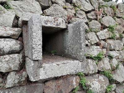 石樋(百間堀側)