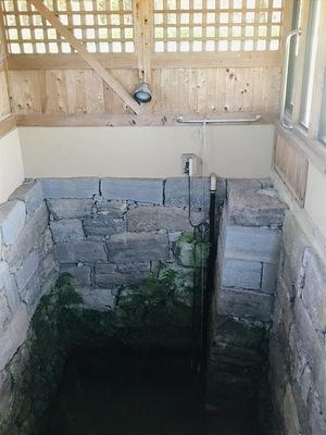 大井戸遺構(相良内蔵助屋敷の地下室)