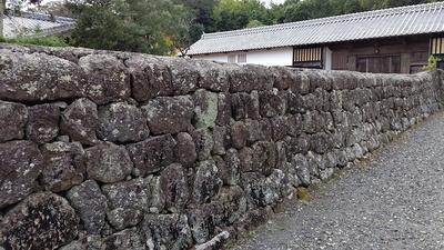 鍋島陣屋 石垣