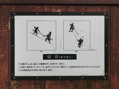 切岸(きりぎし)の説明