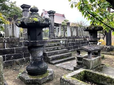 鶴ヶ城の遺構
