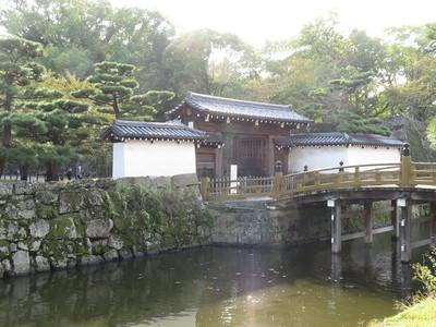 一の橋と大手門