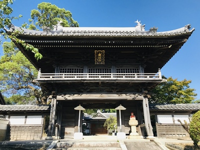 安祥山 大乗寺の山門