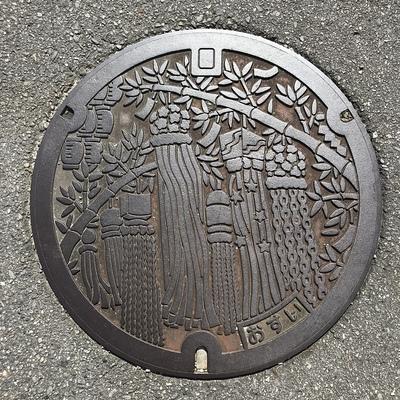 マンホール(安城七夕まつり)