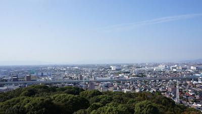 名古屋高速から小牧山城が見えると悔しくなりませんか