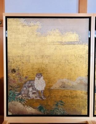 本丸御殿 麝香猫図(じゃこうねこず) デジタル複製