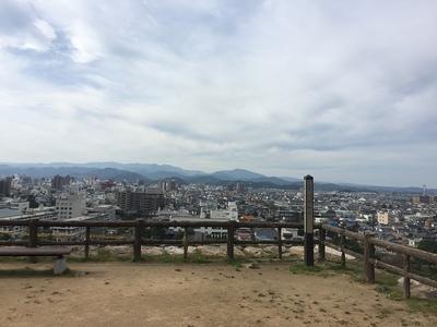 三階櫓からの眺め