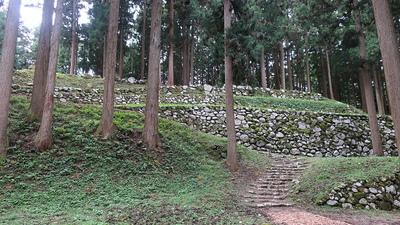 調度丸の石垣