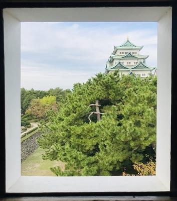 大天守(西南隅櫓から)