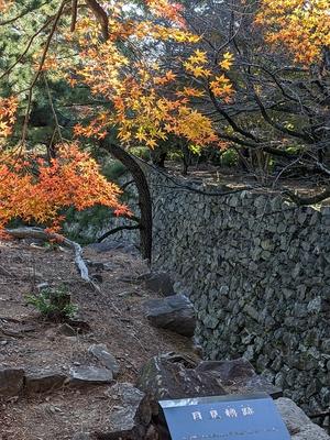 秋の月見櫓跡