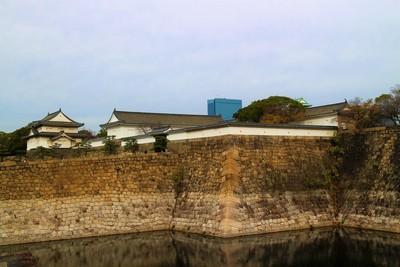 千貫櫓・大手門・多聞櫓(南側)