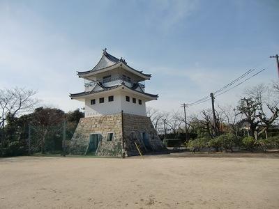 天守風展望台(北東から)