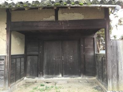 伝 西門(移築)の扉