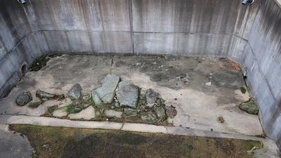 北ノ庄城堀跡展示