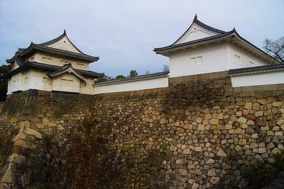 千貫櫓と多聞櫓(南西側)