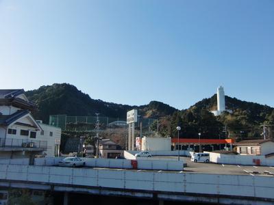 久礼城遠景