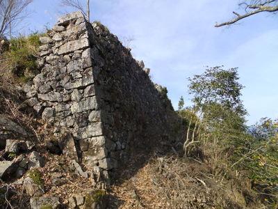 本丸 東側石垣
