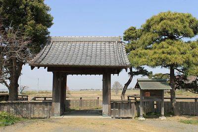 旗本内藤屋敷門