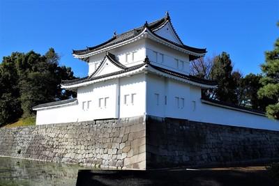 東南隅櫓(南東側)