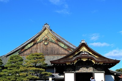 二の丸御殿(南側)