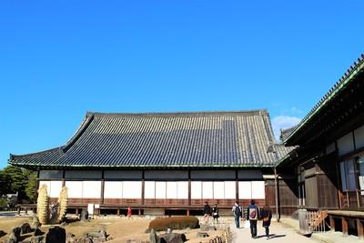 二の丸御殿黒書院(南側)