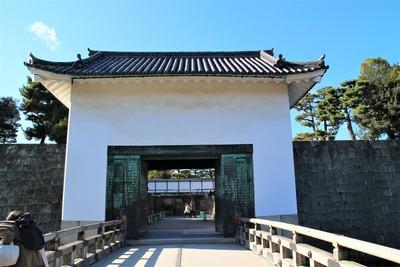 本丸櫓門(東側)