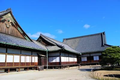 二の丸御殿(南西側)