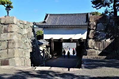 本丸櫓門(西側)
