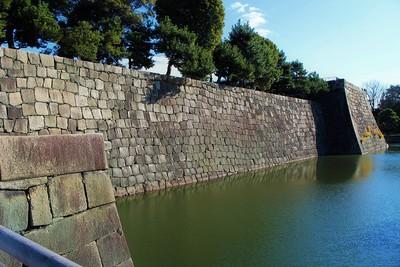 本丸石垣(西側)