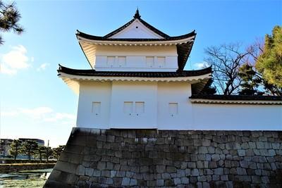 東南隅櫓(東側)