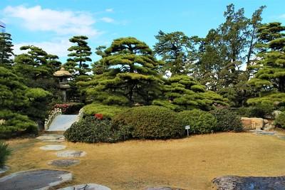 披雲閣庭園(南側)