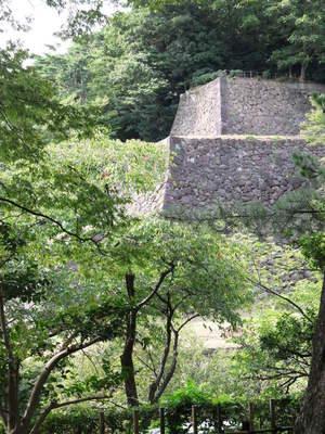兼六園から辰巳櫓跡