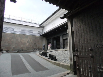 石川門(桝形内)
