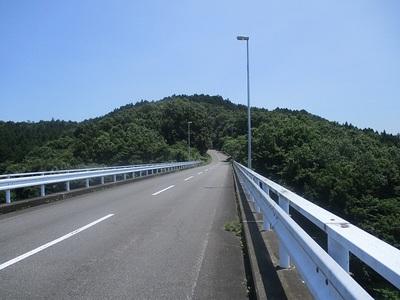 遠景(鷹留城橋から)